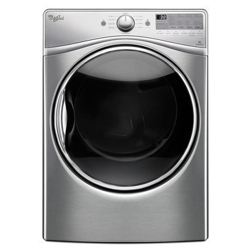 Whirlpool 7.4-Cu.Ft. Gas Dryer w/ Advanced Moisture Sensing, Diamond Steel (WGD92HEFU)