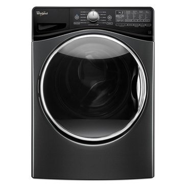 Whirlpool 4.5-Cu.Ft. Front Load Washer w/ Precision Dispense, Black Diamond (WFW92HEFBD)