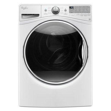 Whirlpool 4.2-Cu.Ft. Front Load Washer w/ Closet Depth Fit, White (WFW9290FW)