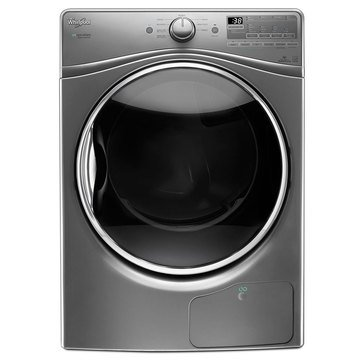 Whirlpool 7.4-Cu.Ft. Electric Dryer w/ Flexible Installation, Chrome Shadow (WED9290FC)