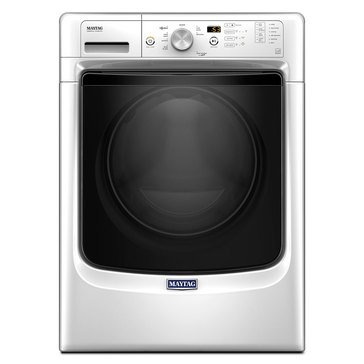 Maytag 4.3-Cu.Ft. Front Load Washer w/ Steam & PowerWash, White (MHW3505FW)