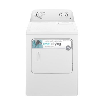 Kenmore 7.0-Cu.Ft. Gas Dryer, White (26-72332)