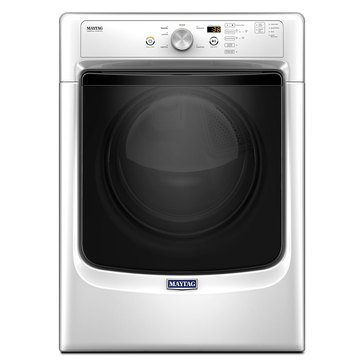 Maytag 7.4-Cu.Ft. Electric Dryer w/ Wrinkle Prevent, White (MED3500FW)