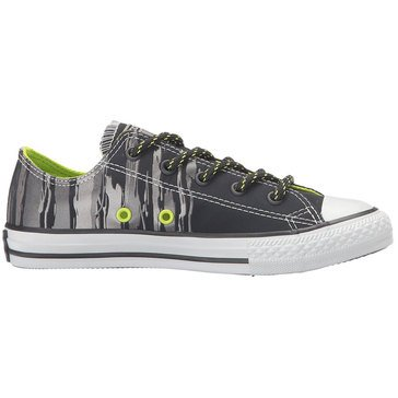 Converse Chuck Taylor Flash Flood Boys Sneaker - Black/Bold Lime