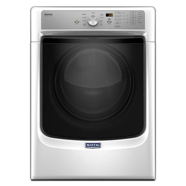 Maytag 7.4-Cu.Ft. Electric Dryer w/ Sanitize & PowerDry, White (MED5500FW)
