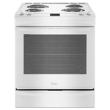 Whirlpool 6.2-Cu.Ft. Electric Range w/ AccuBake, White (WEC530H0DW)