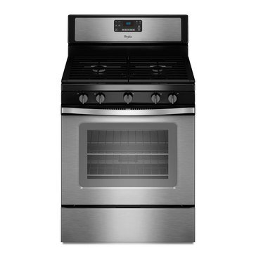 Whirlpool 5.0-Cu.Ft. Freestanding Gas Range w/ Fan Convection, Stainless Steel (WFG530S0ES)