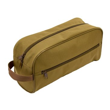 Flying Circle Large Toiletry Bag - Coyote