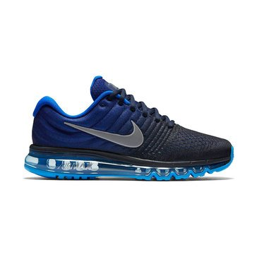 Nike Air Max 2017 Men's Running Shoe LoyalBlue / HyperCobalt / BlueGlow / White