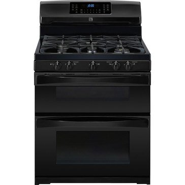 22-75429 5.9 CUFT DOUBLE OVEN GAS RANGE, BLK