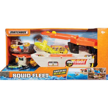 Matchbox Elite Rescue Squid Fleet Marine Boat