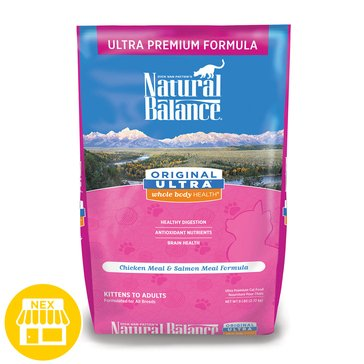 Natural Balance Original Ultra Whole Body Health Chicken Meal & Salmon Meal Dry Cat Food, 6 lbs.