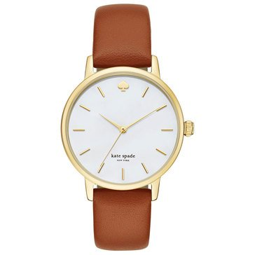 Kate Spade Women's Metro Leather Strap Watch 34mm