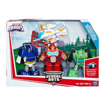 Transformers Rescue Bots Starter Pack