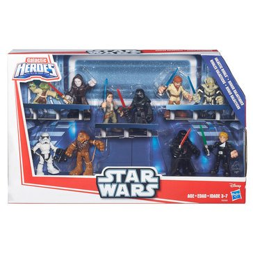 Star Wars Galactic Heroes Galactic Rivals Action Figures Play Set