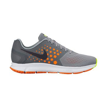 Nike Zoom Span Men's Running Shoe Stealth/ Total Orange/ Cool Grey/ Black