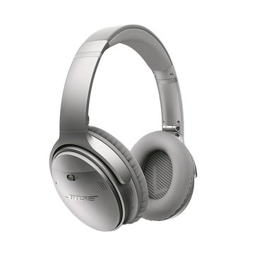 Bose QuietComfort 35 Wireless Headphones - Silver