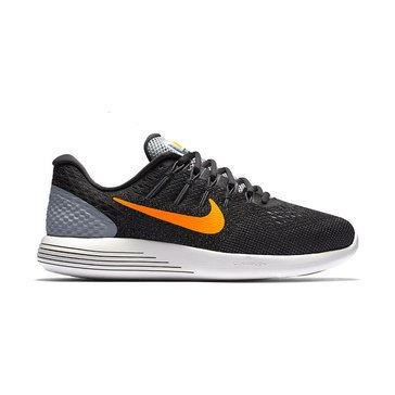 Nike Lunar Glide 8 Men's Running Shoe Wolf Grey/ Anthracite/ Cool Grey/ Bright Citrus