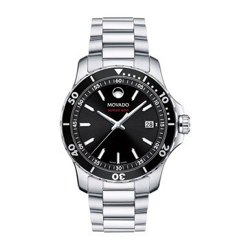 Movado Men's Series 800 Stainless Steel Bracelet Watch, 40mm