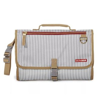 Skip Hop Pronto Signature Changing Wallet, French Stripe