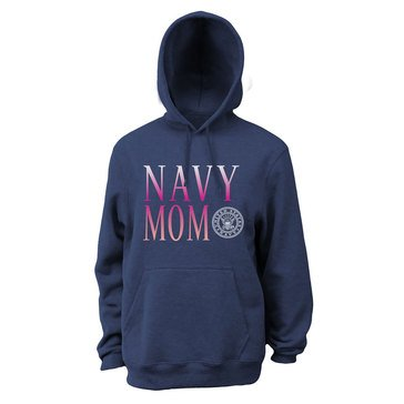 Soffe Navy Mom Fleece Hoodie