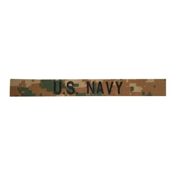 US NAVY BOS Tape on MARPAT Woodland