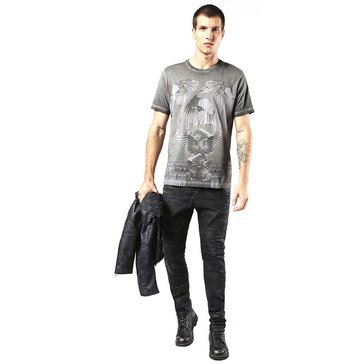 Diesel Men's T-Joe Ho Short Sleeve Tee Shirt