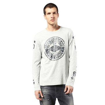 Diesel Men's T-Joe LS-FU Long Sleeve Tee Shirt