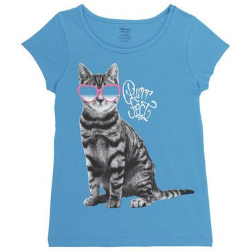 French Toast Toddler Girls' Basic Graphic Tee
