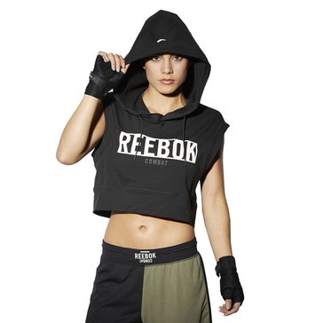 Reebok Women's Train Like a Fight Sleevless Hoody