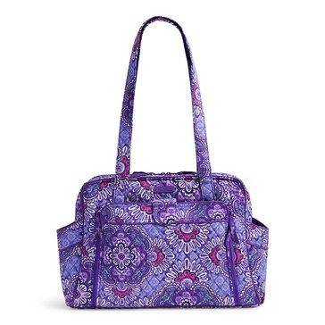 Vera Bradley Stroll Around Baby Bag, Lilac Tapestry