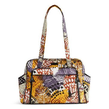 Vera Bradley Stroll Around Baby Bag, Painted Feathers