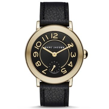 Marc Jacobs Women's Riley Leather Strap Watch 36mm