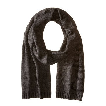 Calvin Klein Men's Big Logo Solid Scarf - Charcoal