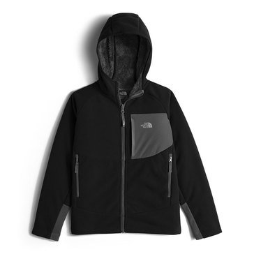The North Face Boys' Chimborazo Hoodie, Black
