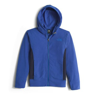 The North Face Boys' Glacier Full Zip Hoodie, Honor Blue