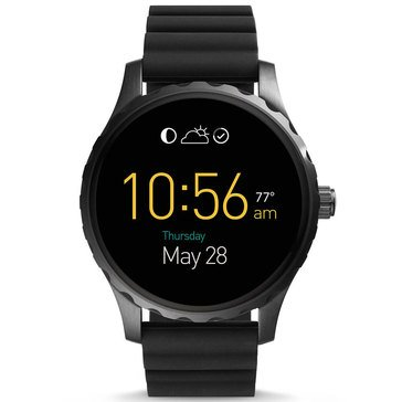 Fossil Q Men's Marshal Smart Silicone Strap Watch 49mm