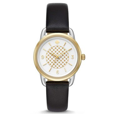 Kate Spade New York Women's Boathouse Leather Strap Watch 30mm
