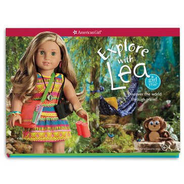 American Girl Explore with Lea Book