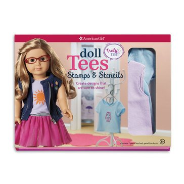 Truly Me Girl: Doll Tees - Stencils and Stamps Activity Book