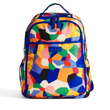 Vera Bradley Lighten Up Backpack Diaper Bag, PopArt