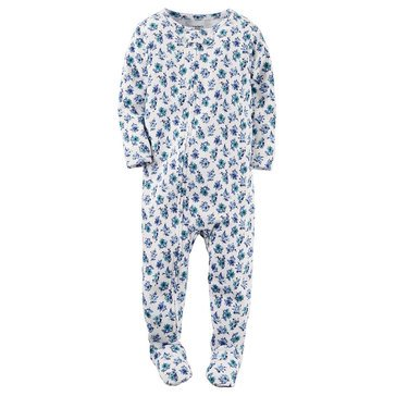 Carter's Baby Girls' Floral Polyester Pajamas