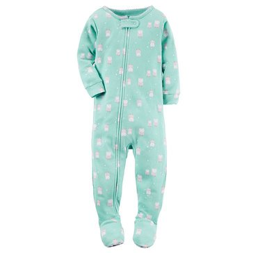 Carter's Baby Girls' Owls Polyester Pajamas