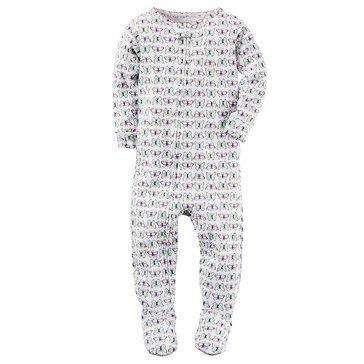 Carter's Baby Girls' Butterfly Polyester Pajamas