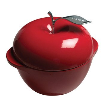 Lodge 2.75-Quart Red Apple Pot