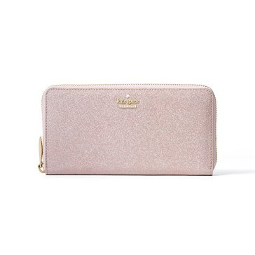 Kate Spade Burgess Court Lacey Continental Wallet Rose Gold