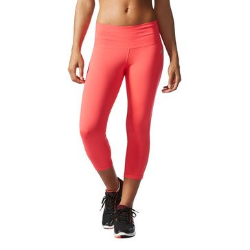 ADIDAS Performer Midrise 3/4 Tight Shock Red