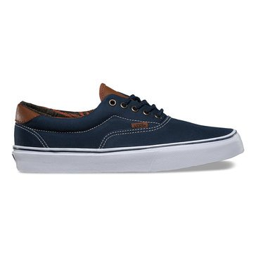 Vans C&L Era 59 Unisex Skate Shoe Dress Blue / Italian Weave