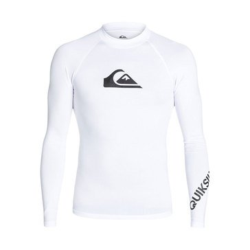 Quiksilver Men's All Time Long Sleeve Lycra Rashguard Tee
