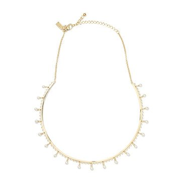 Kate Spade Gold Tone 'Chantilly Charm' Collar Necklace